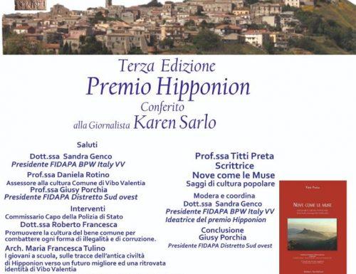 Summer school writing della prof.ssa Titti Preta: l'articolo  giornalistico sul PREMIO HIPPONION FIDAPA