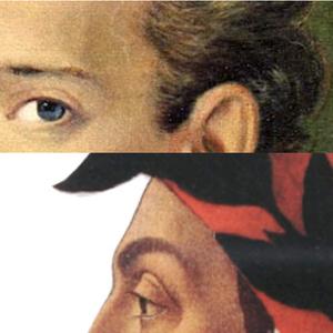 School writing di T.Preta: Incontro tra Dante e Leopardi